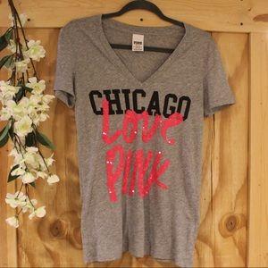 Grey like new PINK t-shirt